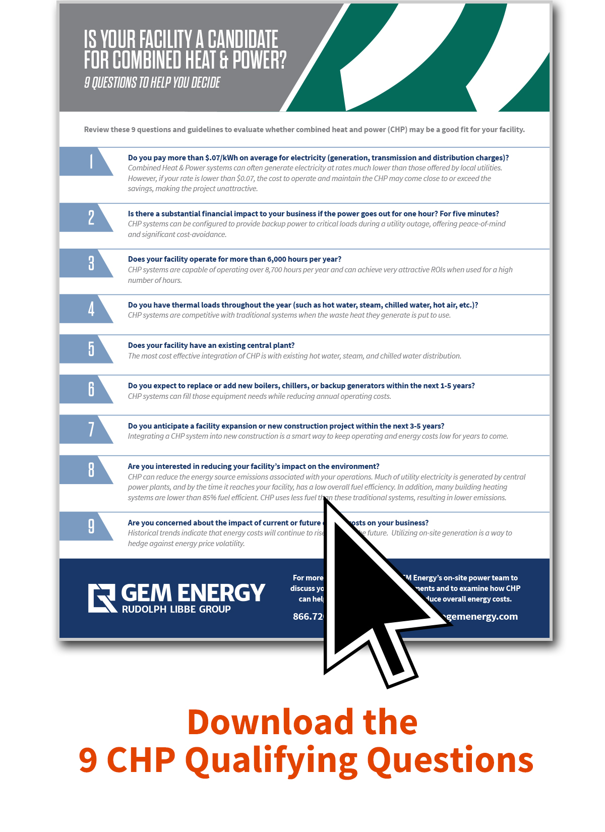 CHP Qualifying Questions | GEM Energy